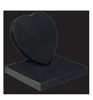 ET156 - Small Heart Headstone Image