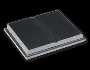 ET168 - Flat Book Cremation Tablet Image