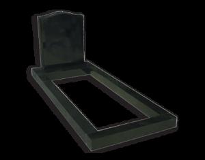 ET66 - Standard Ogee Style Kerbed Memorial Image